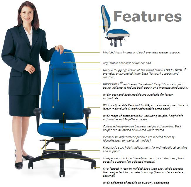 OBUSForme Ergonomic Office Chairs